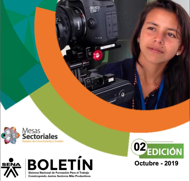 Segunda edición boletín informativo 2019, Mesa Sectorial Audiovisuales