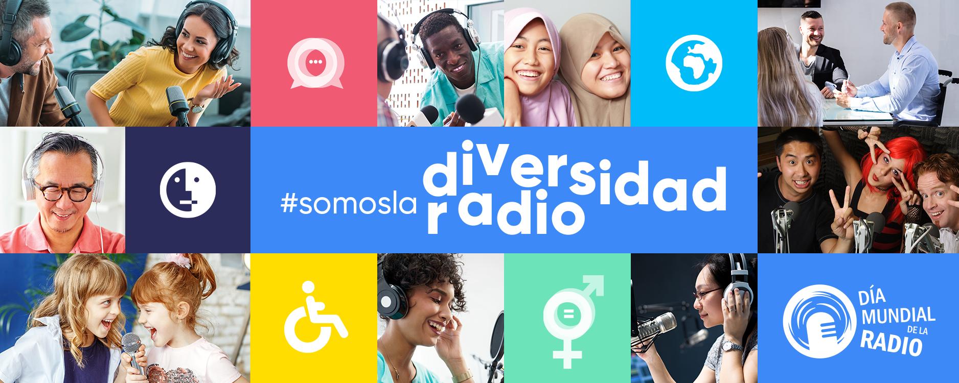 HOY DÍA MUNDIAL DE LA RADIO 2020, CELEBRAMOS SU DIVERSIDAD Y PLURALISMO.
